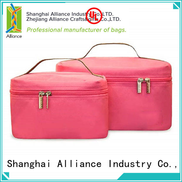 Alliance elegant shoulder cooler bag for food
