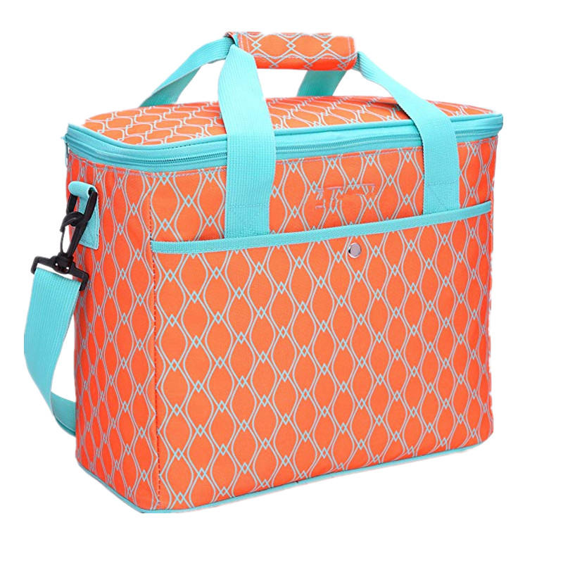 18L Large Soft Cooler Insulated Picnic Bag for Grocery Camping