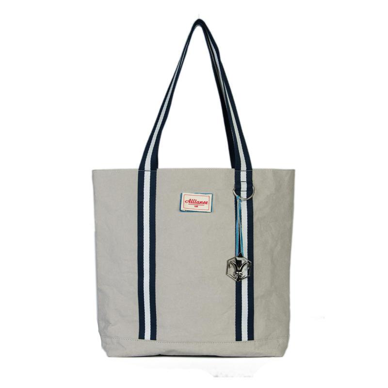Wash kraft paper quality fashion handbags tote bag