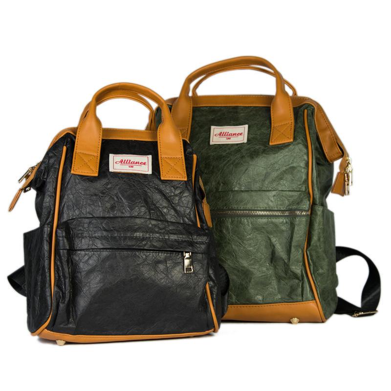 New design Custom Recycle Shopping Tyvek Paper Backpack Bag