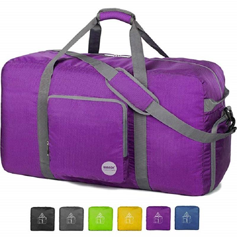 Foldable Duffle Bagfor Travel Gym Sports Lightweight Luggage Bag