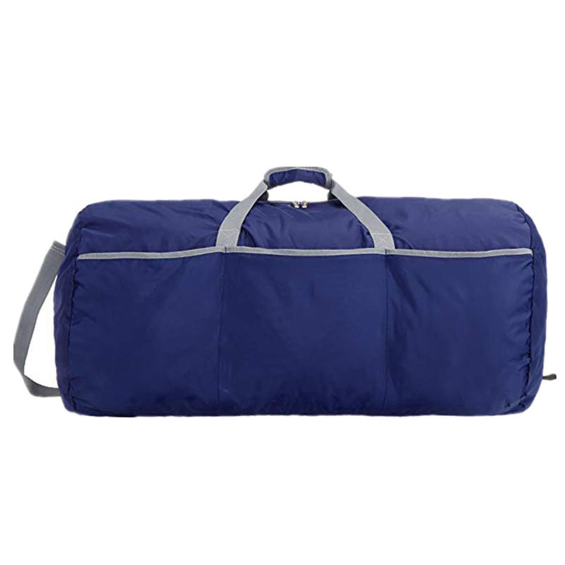 Large rectangular shaped duffel travelling bag with roomy interior
