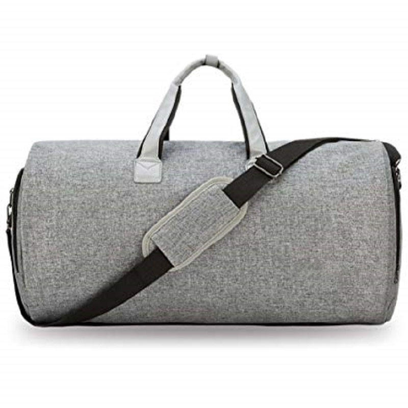 2 in 1 Hanging Suitcase Suit Travel Carry on Garment Duffel Bag for Men