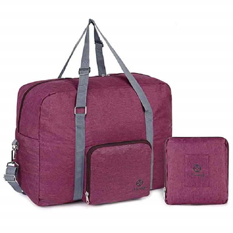 Multi-function Foldable Carryon Luggage Travel Duffle Tote Bag