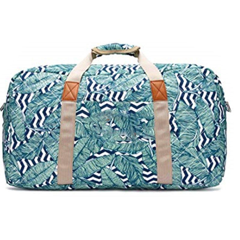 Canvas Weekender Bag Travel Duffel Bag for Weekend Overnight Trip