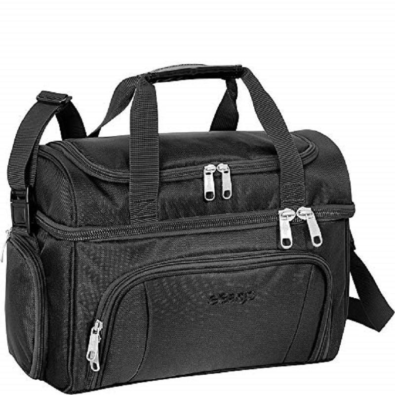 Cooler Soft Sided Insulated Lunch Box For Work Travel Weekends