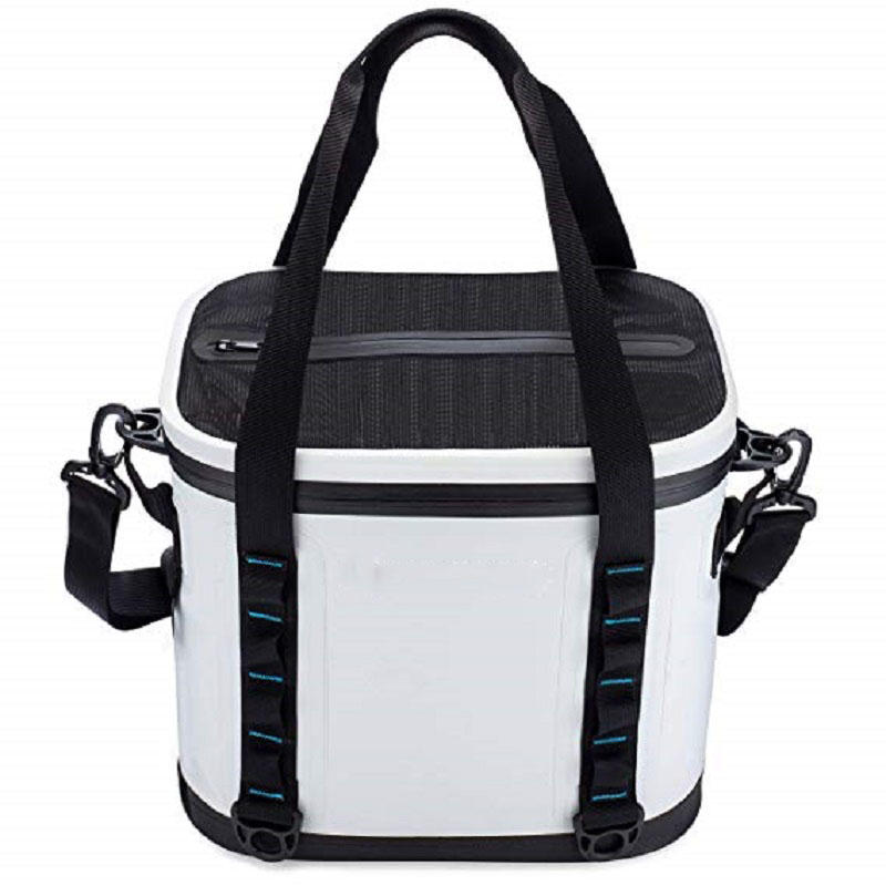 Heavy Duty Waterproof 20 Can Mesh Tote Insert Included Soft Cooler Bag