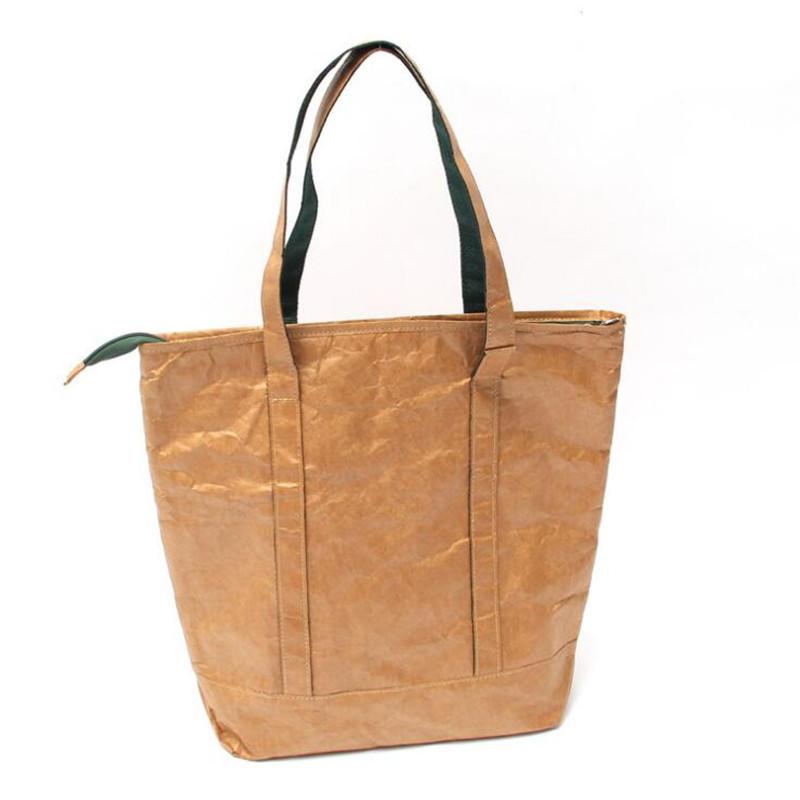 Custom Logo Waterproof Tyvek Paper Cooler Bag
