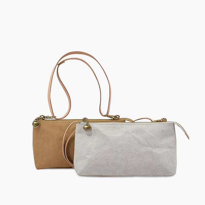 Custom print kraft paper quality fashion handbags tote bag