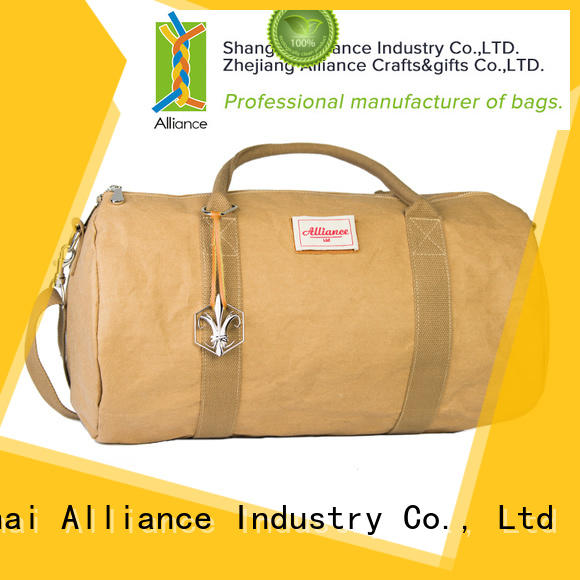 Alliance practical travel duffel bags customized for gym