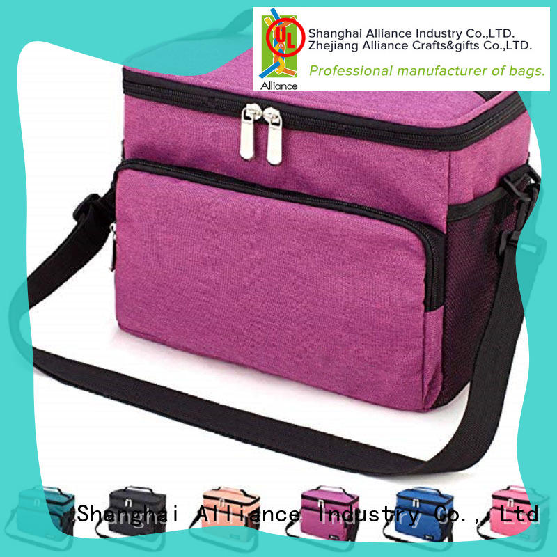 Alliance waterproof insulated cooler tote bags for children