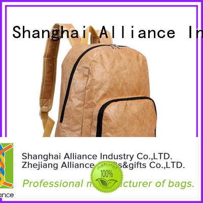 Alliance environmentally backpacks for school factory for hiking