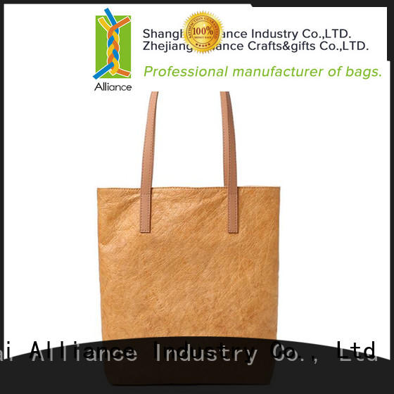 Alliance personalized tote bags customized for shopping