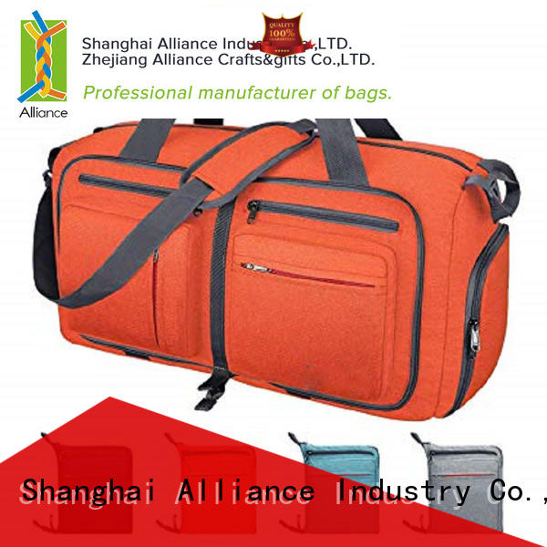 Alliance waterproof duffel bag customized for women