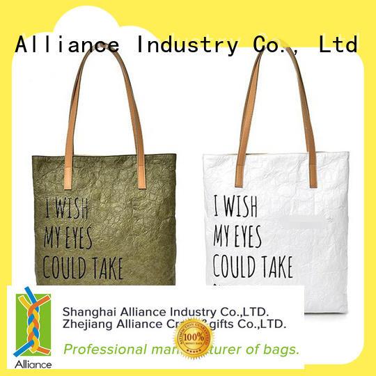 Alliance multi purpose cotton bag series for books