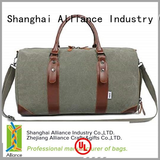 Alliance travel duffel bags customized for vacation