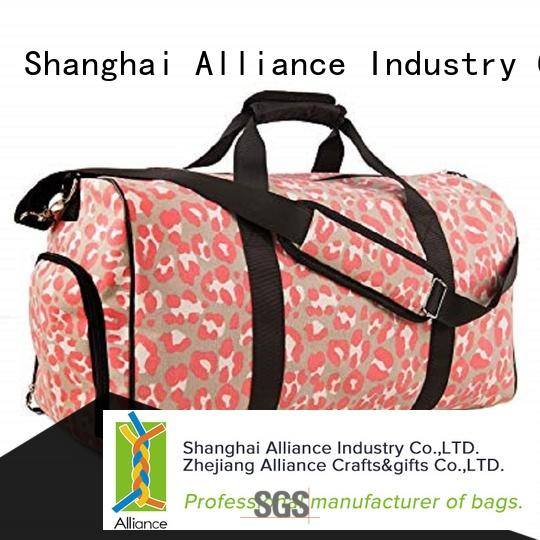 Alliance practical carry on duffel bag manufacturer for women