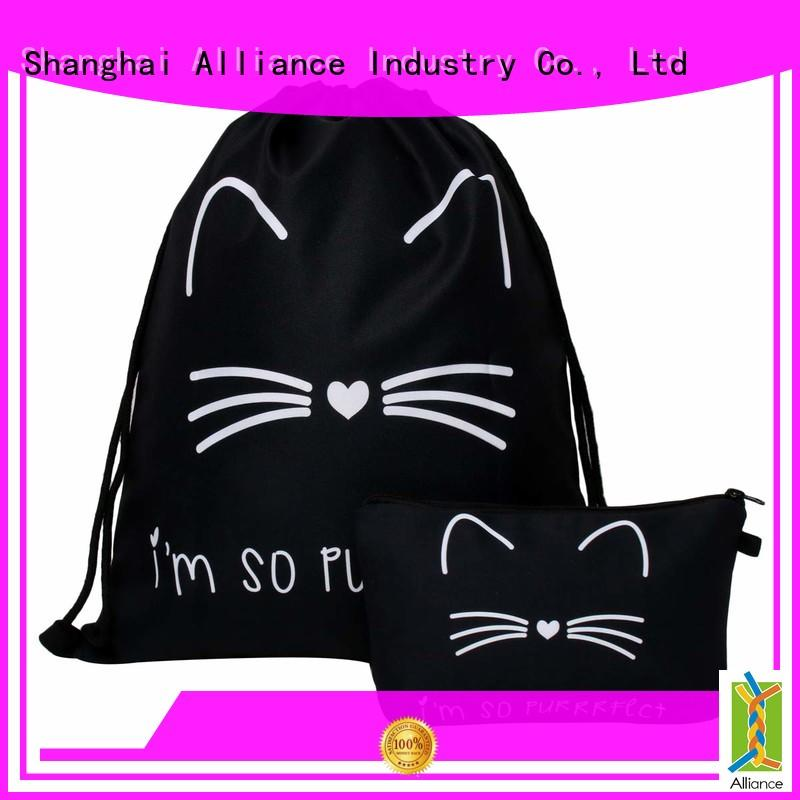 Alliance drawstring bags with good price
