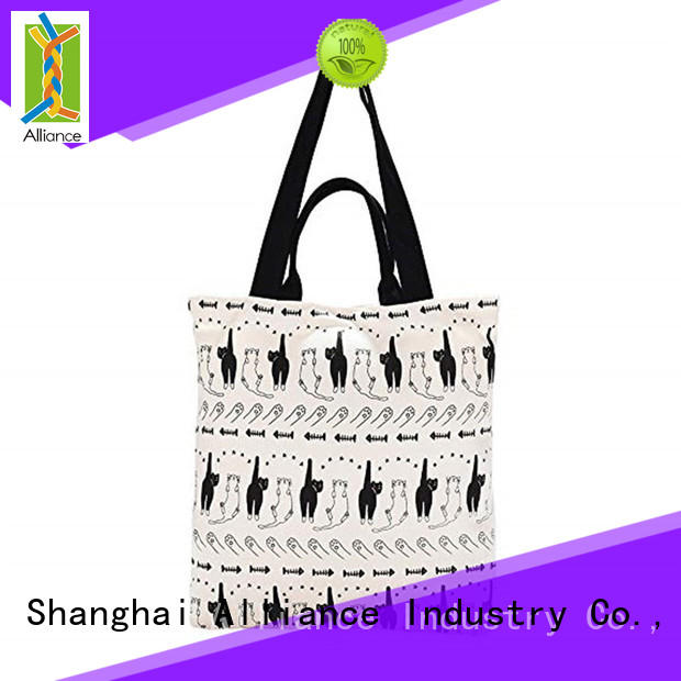 Alliance cotton tote bags series for grocery