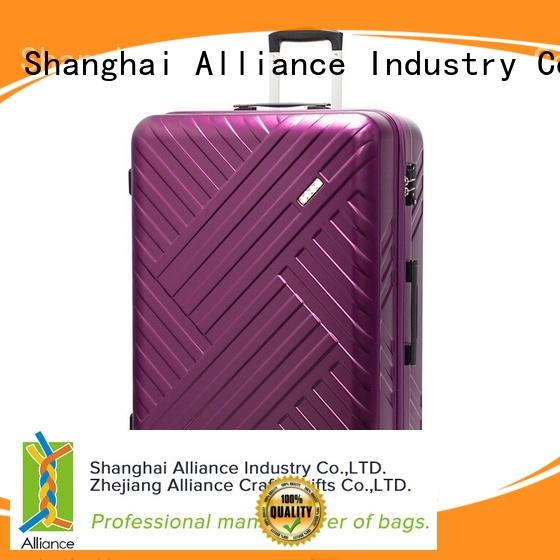 Alliance hard trolley suitcase with good price for travel