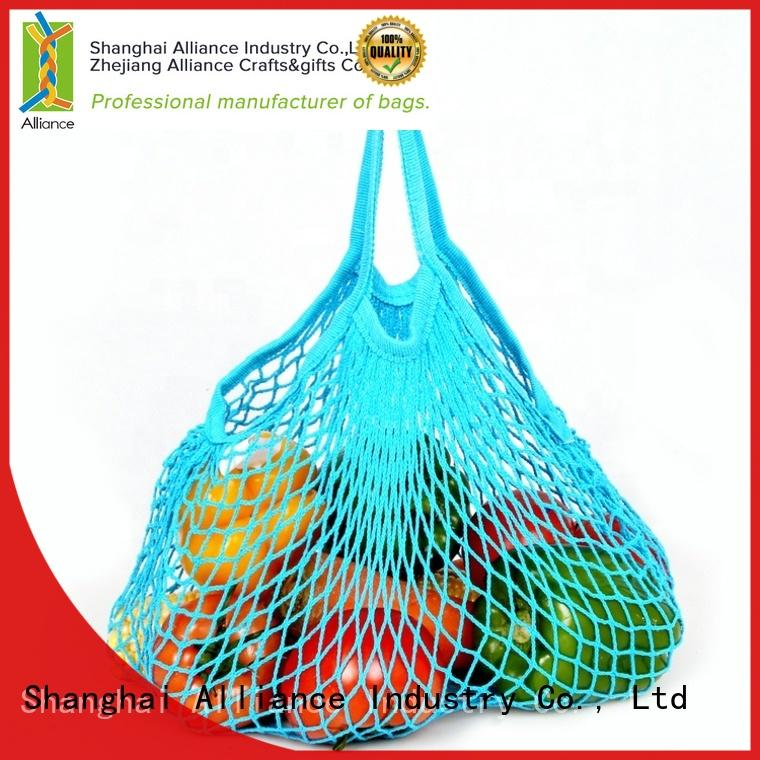 Alliance quality fruit net bag for shopping
