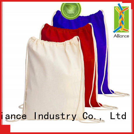Alliance cost-effective drawstring pouch design for children
