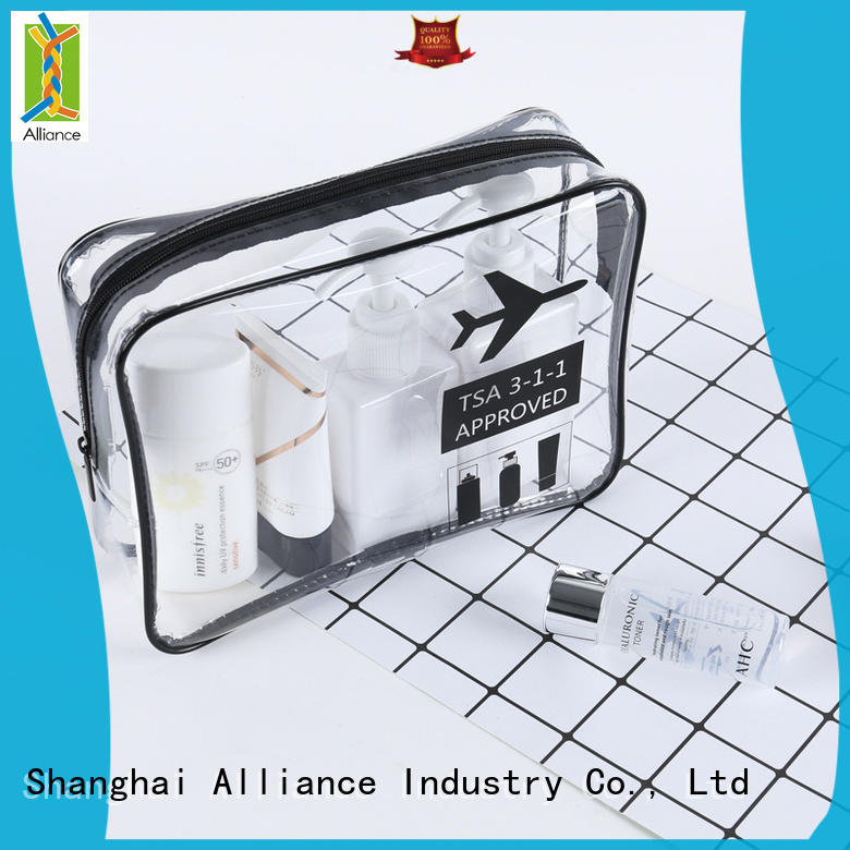 Alliance cosmetic bags supplier for tirp