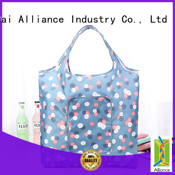 Alliance reusable tote bags factory for grocery