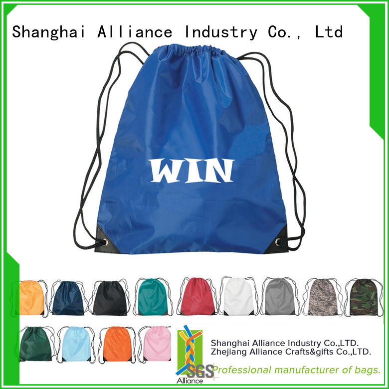 Alliance excellent drawstring pouch design for children