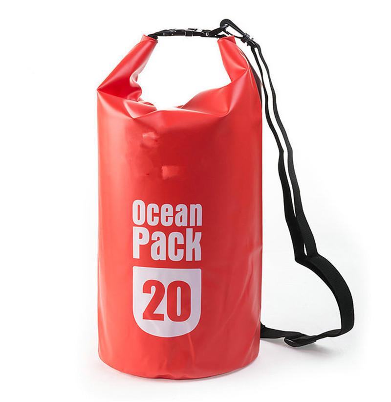 Customized Waterproof PVC Ocean Pack Dry Bag for Hiking Camping
