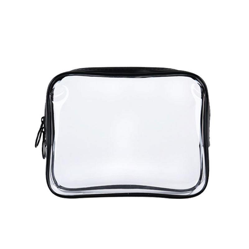 wholesale beautiful clear pvc cosmetic transparent bag