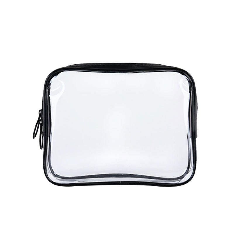 wholesale beautiful clear pvc cosmetic transparent bag
