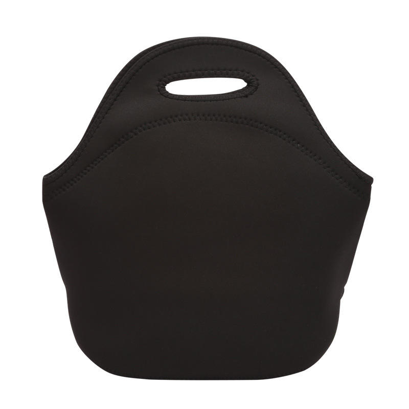 Insulated Neoprene Lunch bag Picnic Cooler bag with zipper