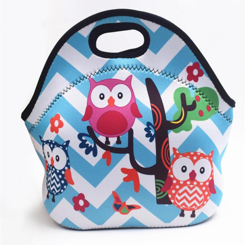 Insulated Neoprene Lunch beach bag Thermal food Neoprene bag