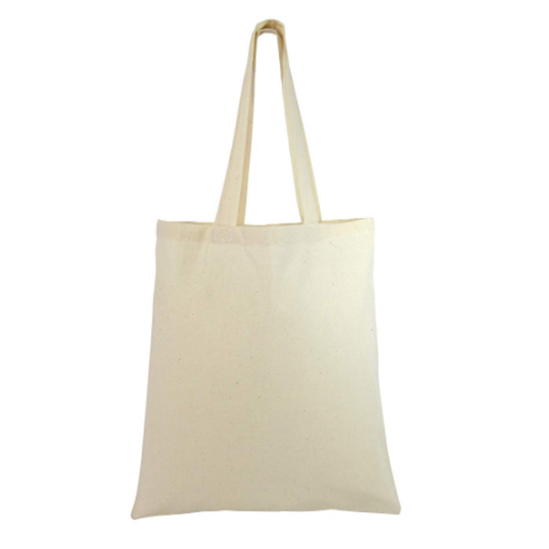 Blank Cotton Tote Bags Reusable 100% Cotton Reusable Tote Bags