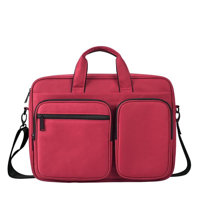 Laptop Bag 15.6 Inch Briefcase Shoulder Messenger Bag Water Repellent Laptop Bag