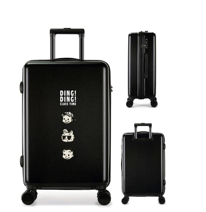ABS/PC durable fashion wholesale travel trolley luggage sets suitcase set