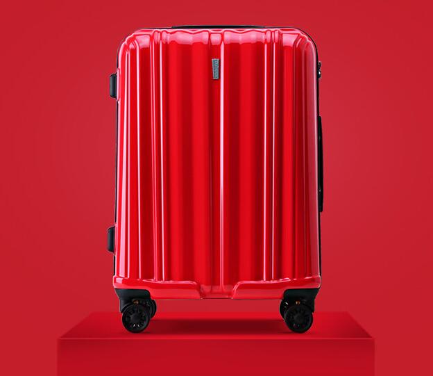 ABS+PC durable double wheels TSA lock set of 3pcs luggage