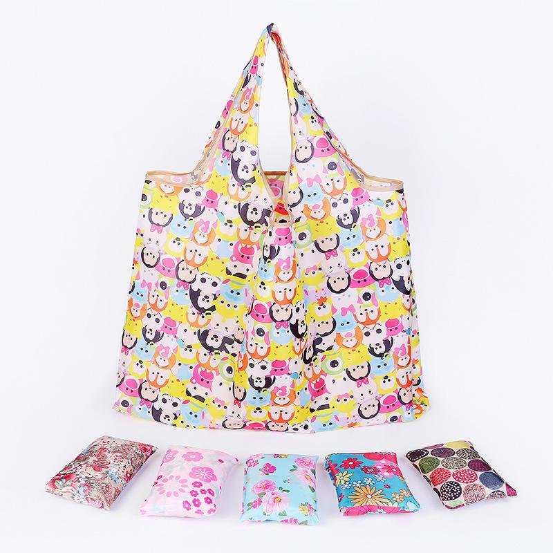 Portable Shopping Bag Pouch