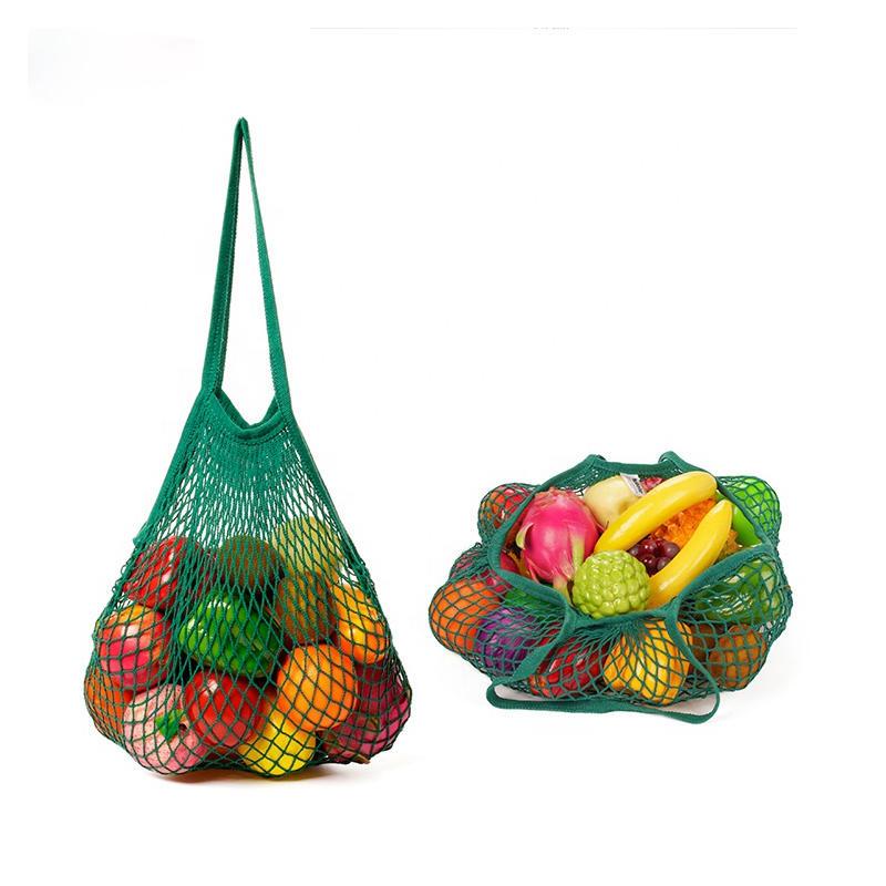 Wholesale Reusable Grocery Cotton Mesh Tote Bag TM160
