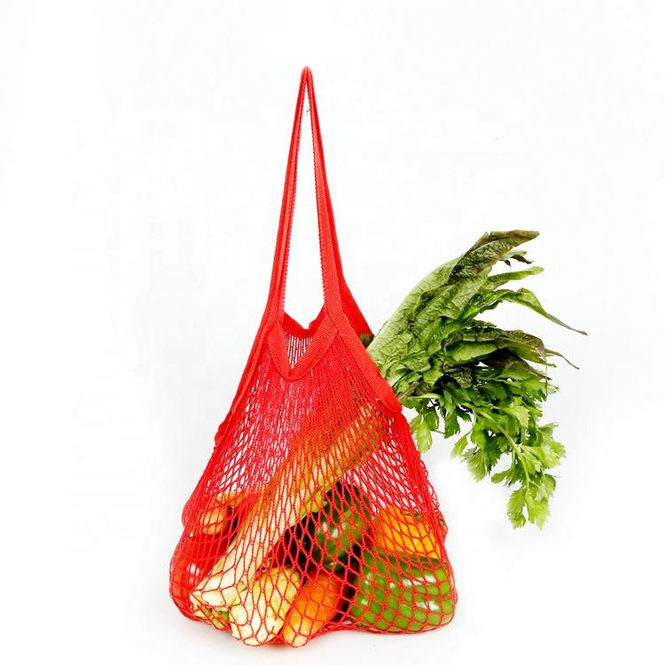 Wholesale Recycle Cotton Mesh Bags