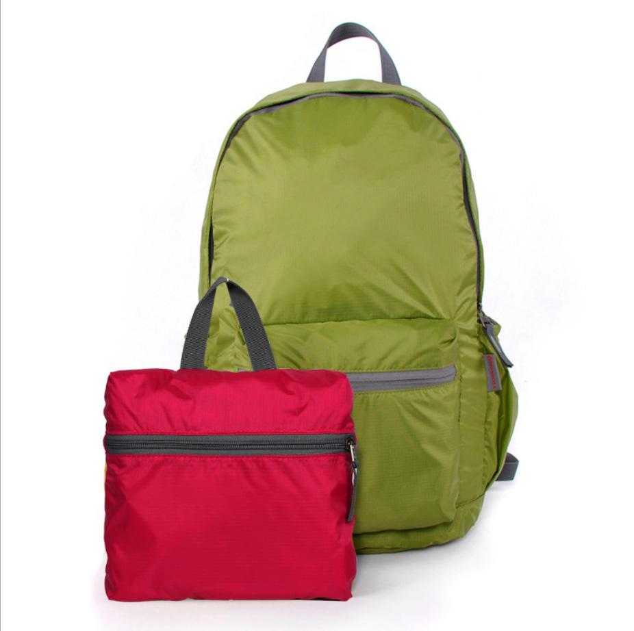waterproof new style sports leisure lightweight folding backpack, foldable bagpack