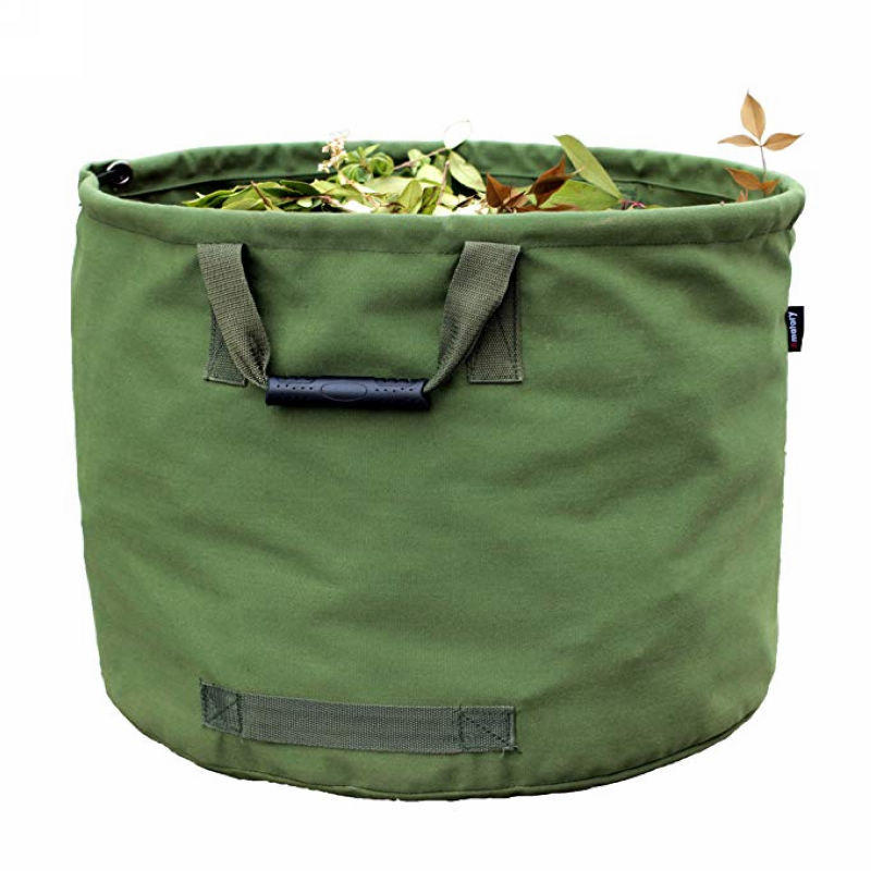 Garden Lawn Leaf Yard Waste Bag Container Tote Gardening Trash Bag