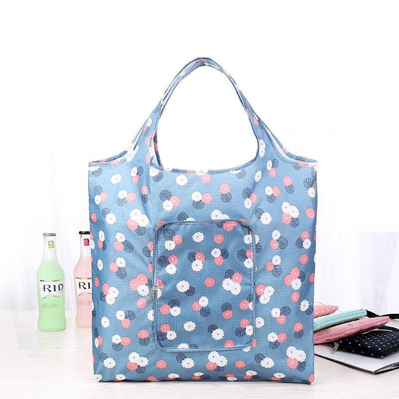 Foldable Shopping Bags 41.9 x 62.9cm Reusable Shopper Tote Bag