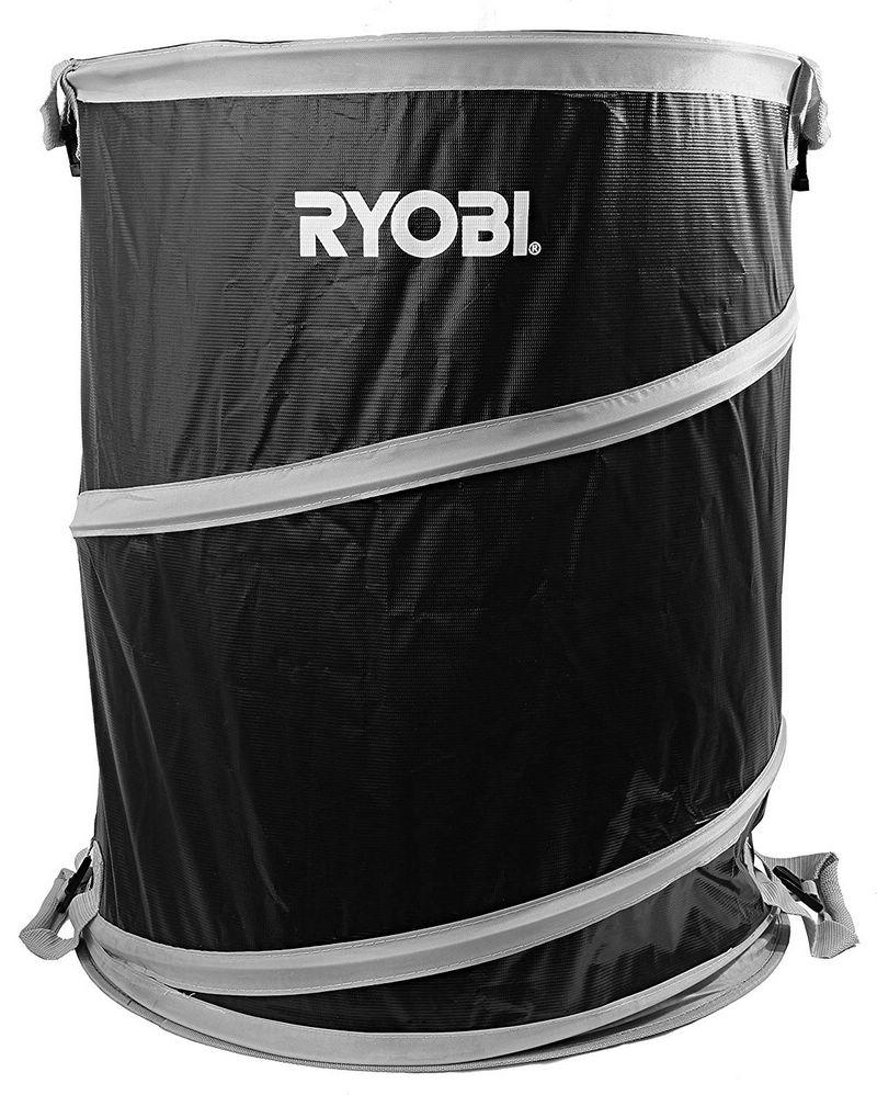 40 Gallon Collapsible and Reusable Lawn and Garden Bag with Quadruple Hand Strap System