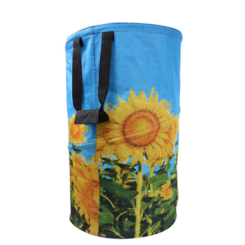 collapsible garden waste bags design for vegetable-2