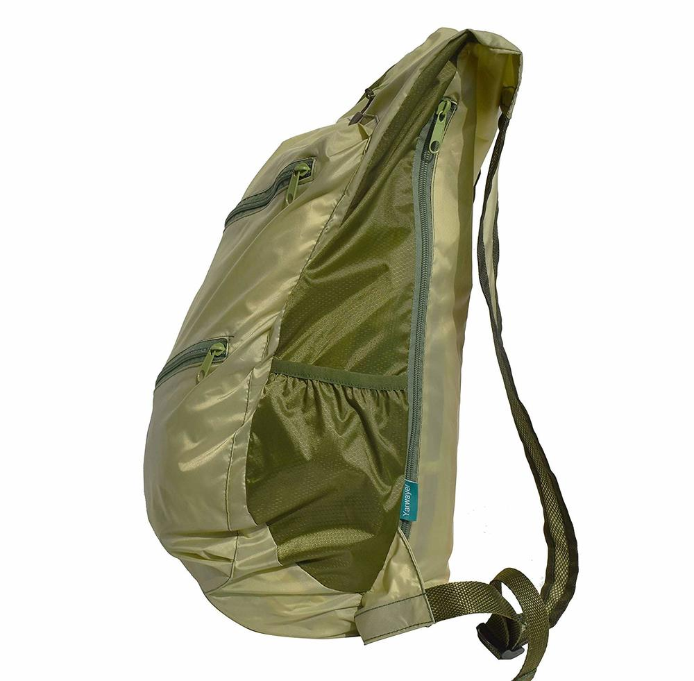 35L Ultra Lightweight Collapsible Backback For Men,Durable Foldable Backpack,Large Packable Backpack,Folding Hiking Men Backpack