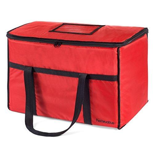 Nylon Insulated Food Delivery and Reusable Grocery Bag - For Catering, Restaurants, Delivery Drivers, Uber Eats, Grubhub, Postmates, Shipt, Instacart, and more.