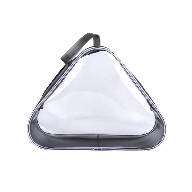 stylish pvc transparent clear cosmetic washable bag