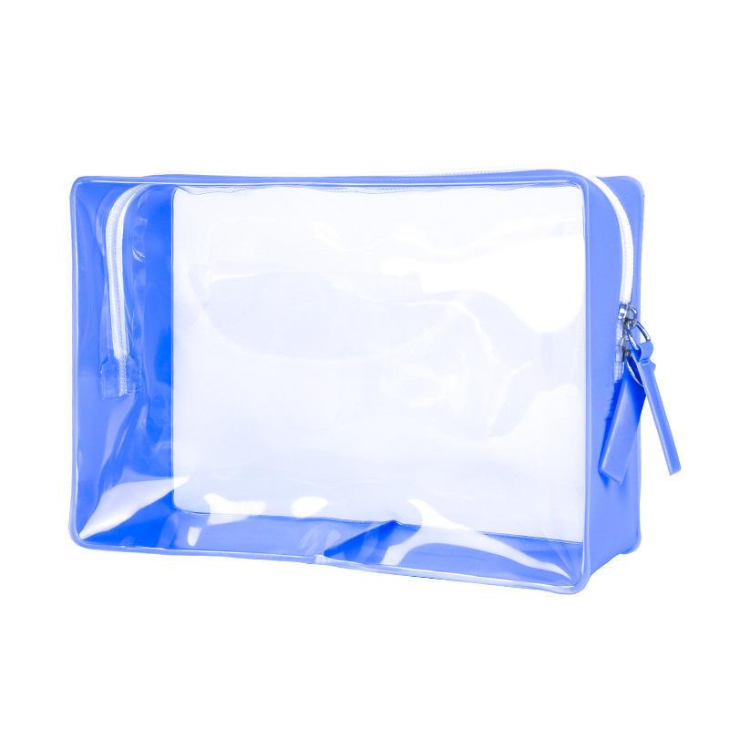 eco-friendly waterproof new cosmetic clear pvc eva makeup bag